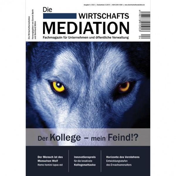 Die Mediation – Der Kollege – mein Feind?!