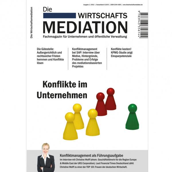 Die Mediation – Konflikte im Unternehmen